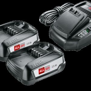Batteriset Bosch 18V 2X2,5 Ah