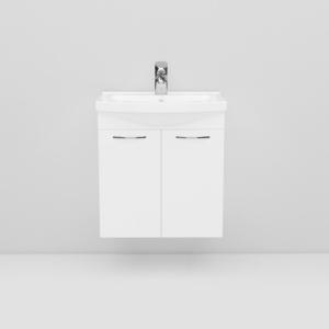 Tvättställsskåp Noro Fix 550 Vit Högglans